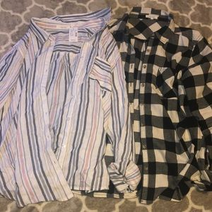 Womens Maurices button ups